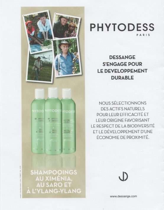 Shampoing Phytodess à l'ylang ylang